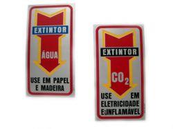 Placa Aço Inox  sinalização
